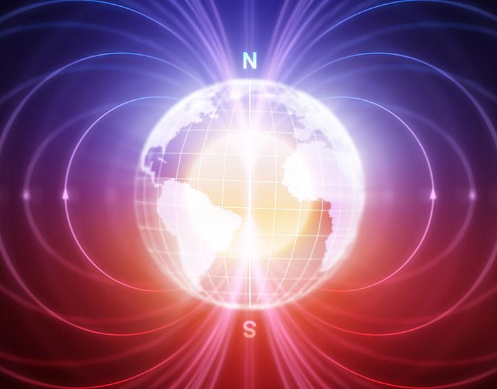 la tierra y sus campos magnéticos