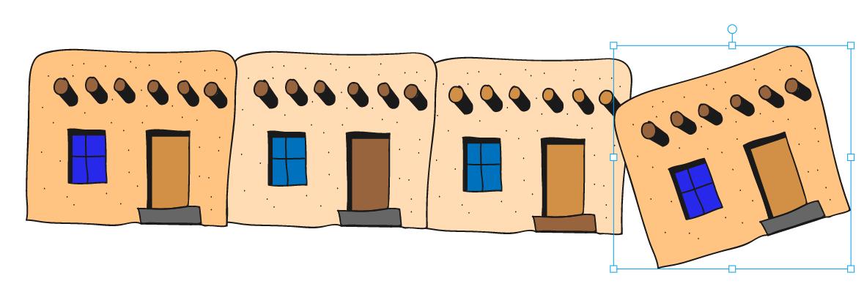 otras casas pintadas autodraw