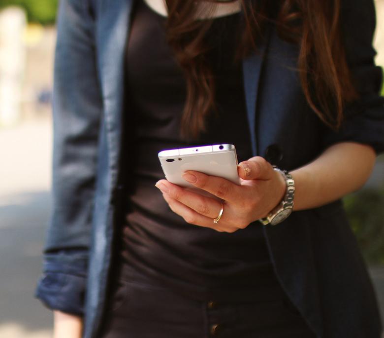 Adicción al móvil.
