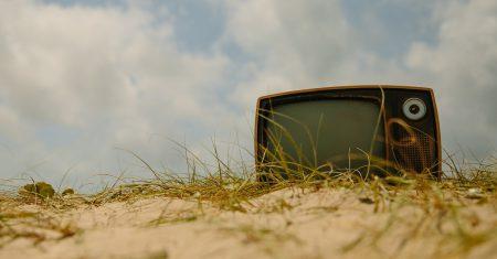 television abandonada