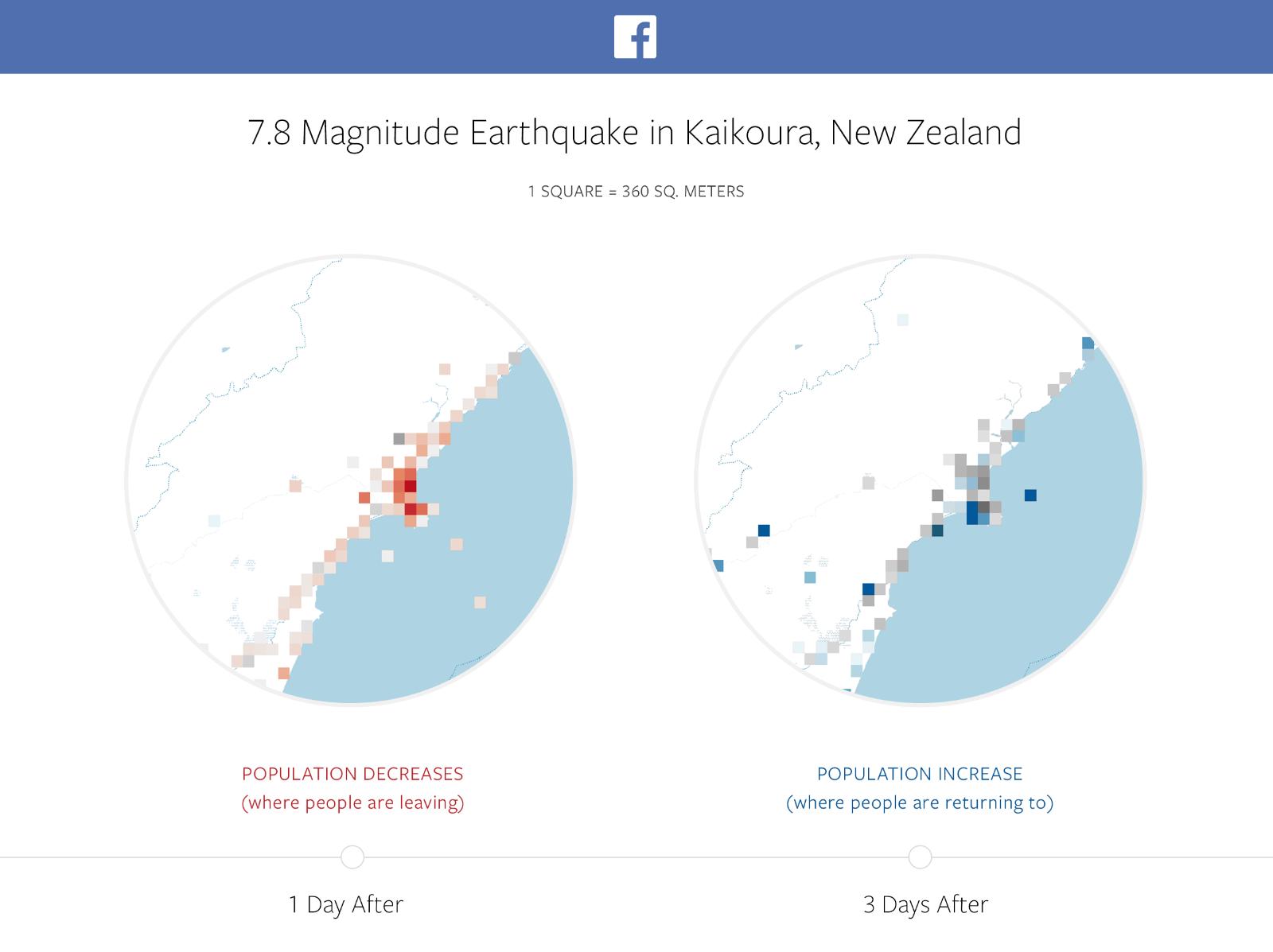 Facebook mapa de desastre