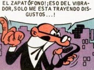 Zapatófono Mortadelo
