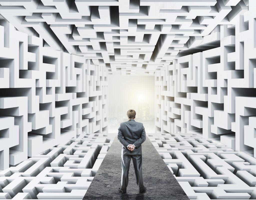 caos en los datos del mundo digital