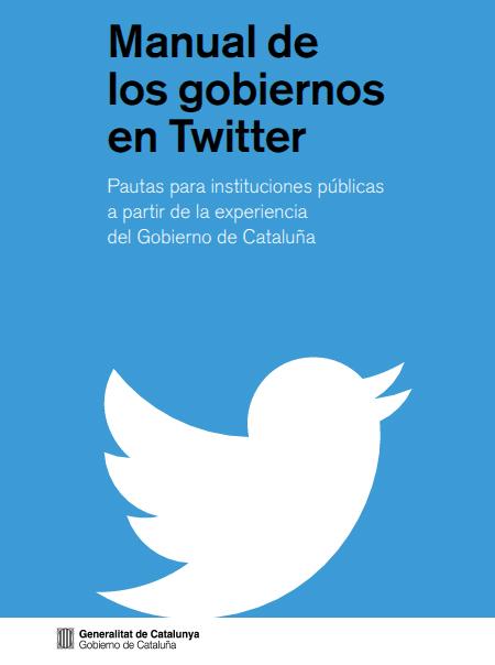 Manual de uso de Twitter de la Generalitat