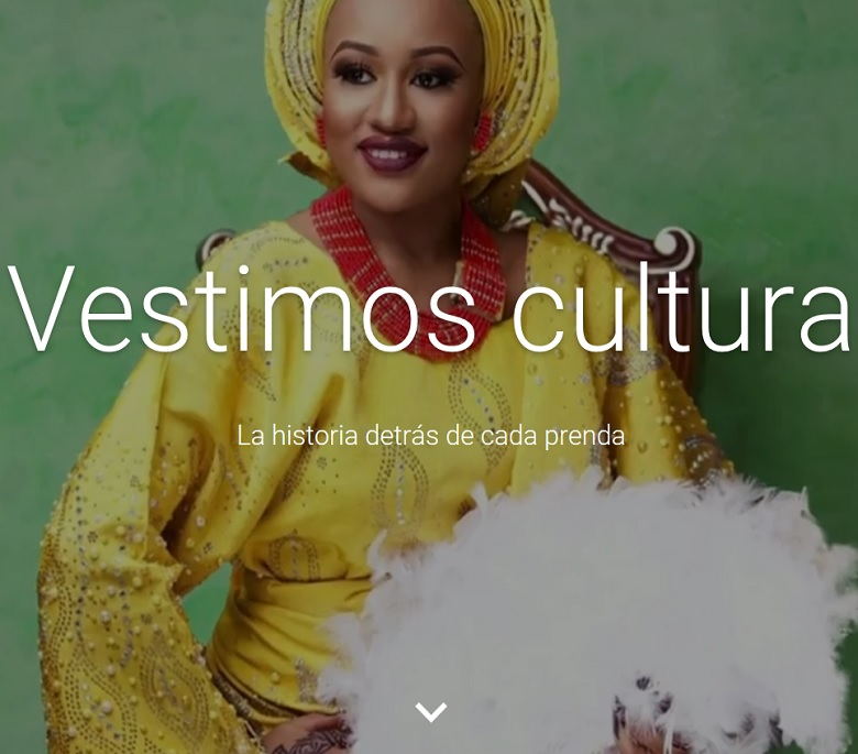 Moda Google 'we wear culture'