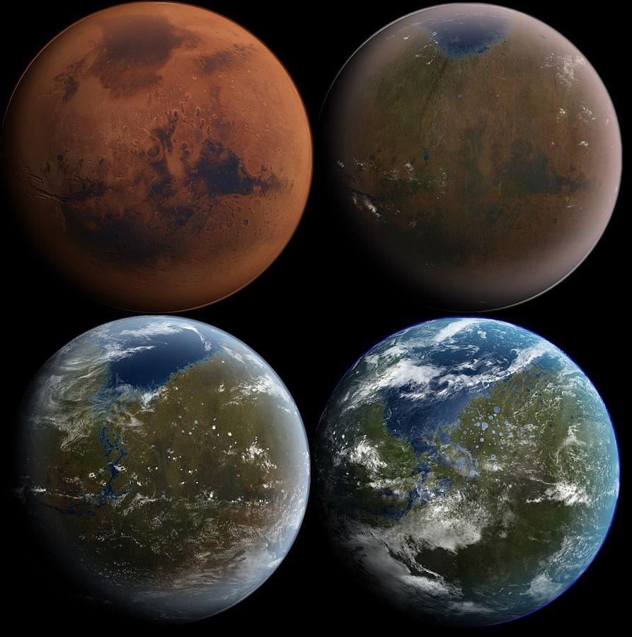 ciencia ficción terraformación de marte
