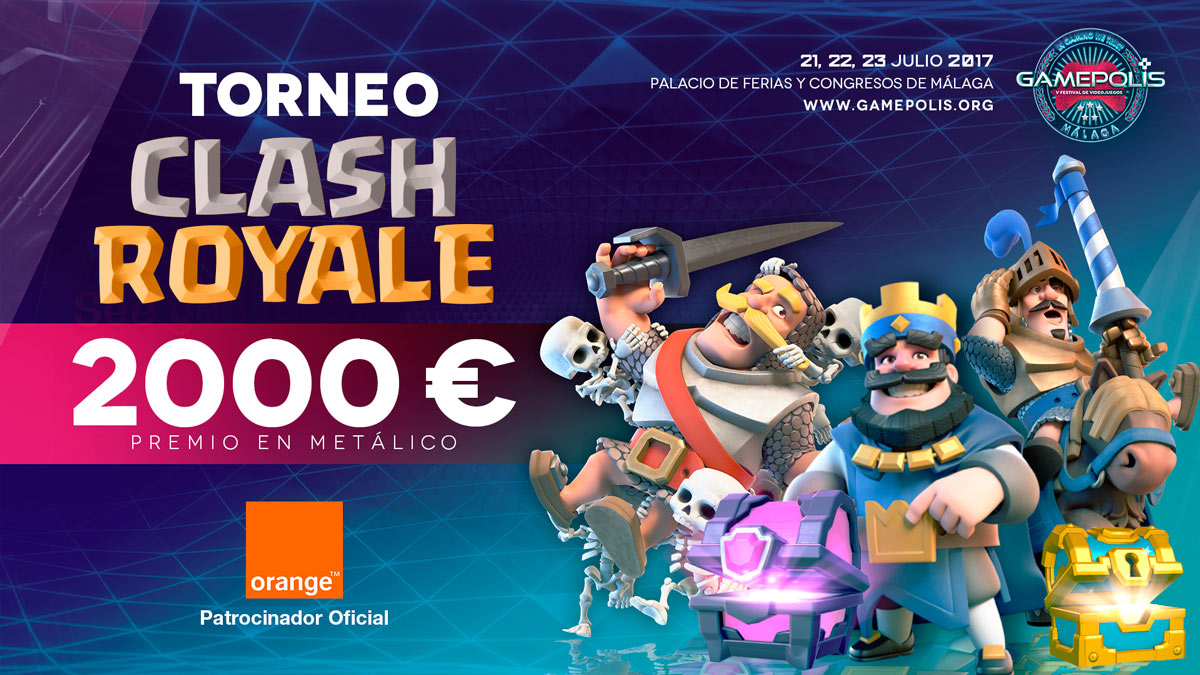 gamepolis -TORNEO-CLASH-ROYALE-orange