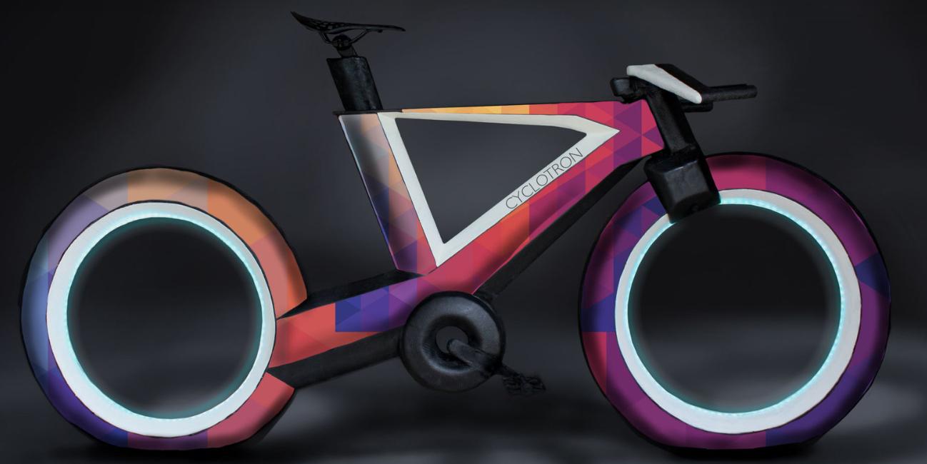 Ciclotrón. Bicicletas del futuro