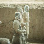 guerreros de terracota descubrimientos