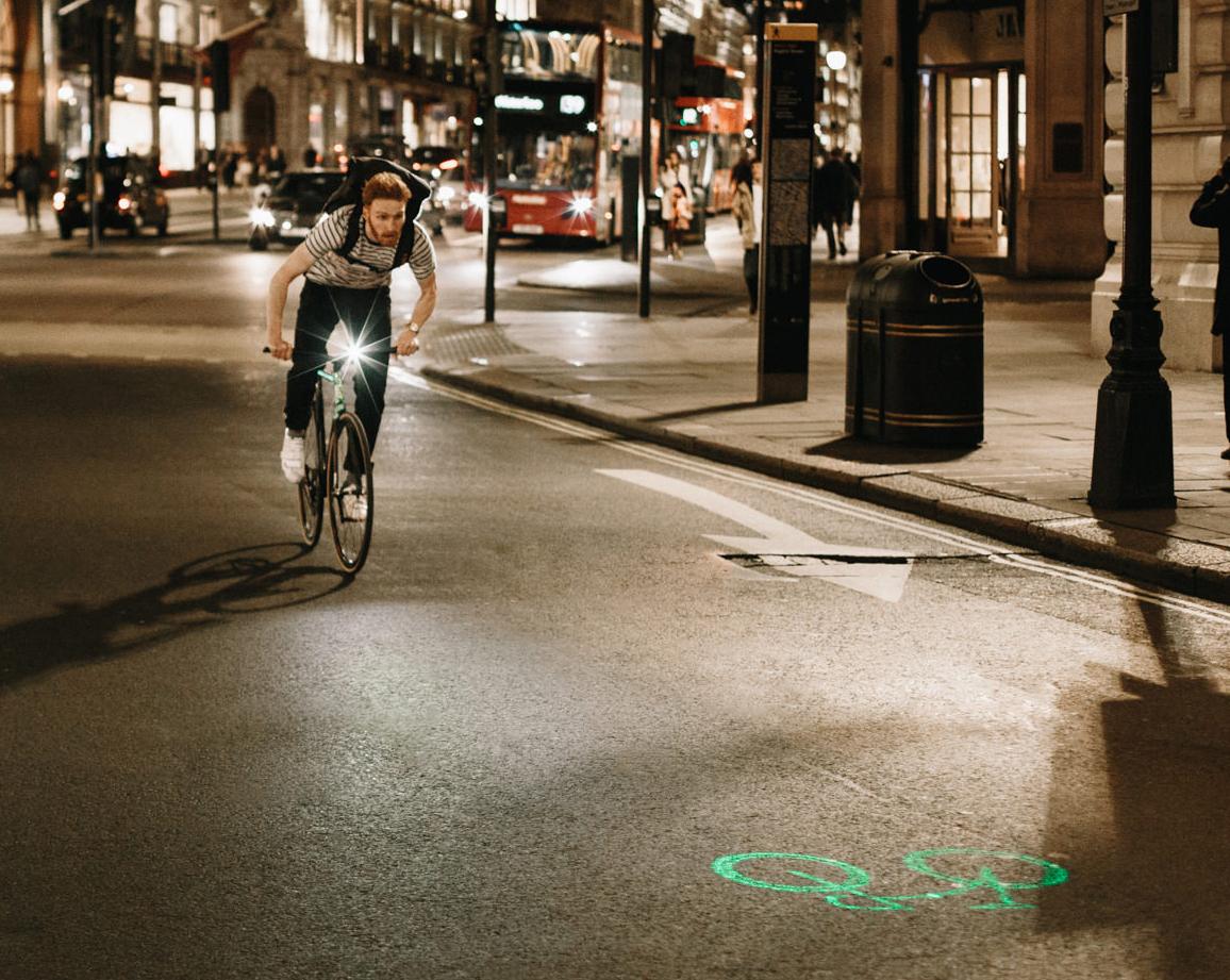 Blze-Laserlight. Bicicletas del futuro