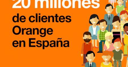 Orange alcanza los 20 millones de clientes
