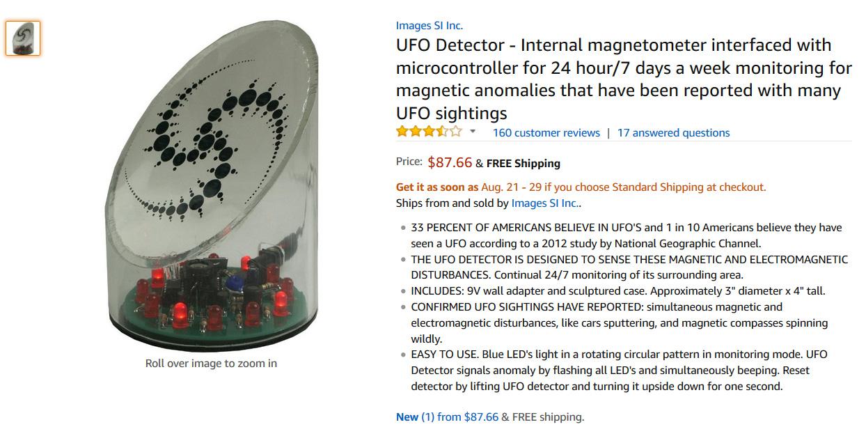 Productos locos a la venta en Amazon