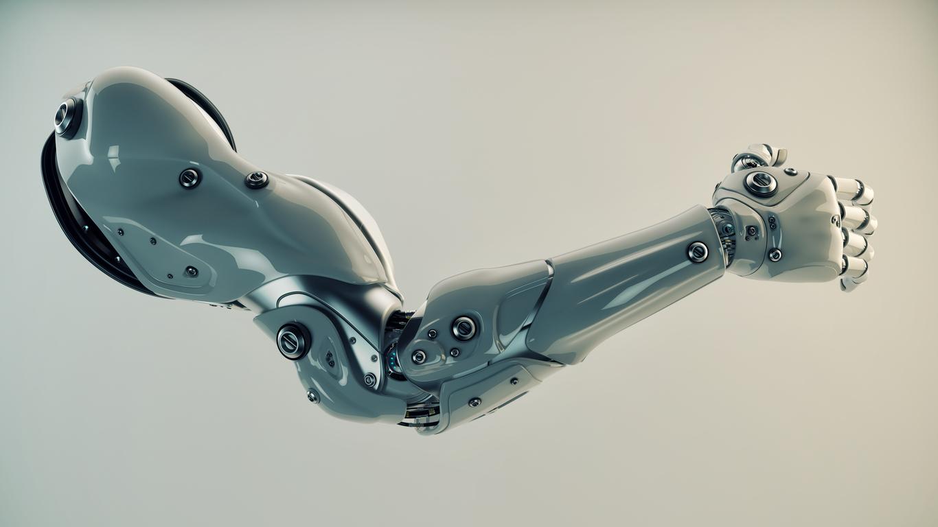 brazo biónico de alta tecnología