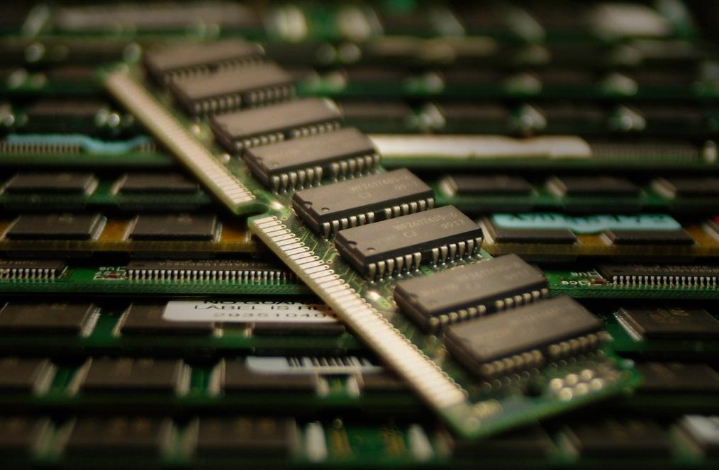 tarjeta de memoria RAM