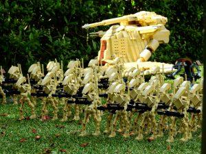 Ejército robots Lego