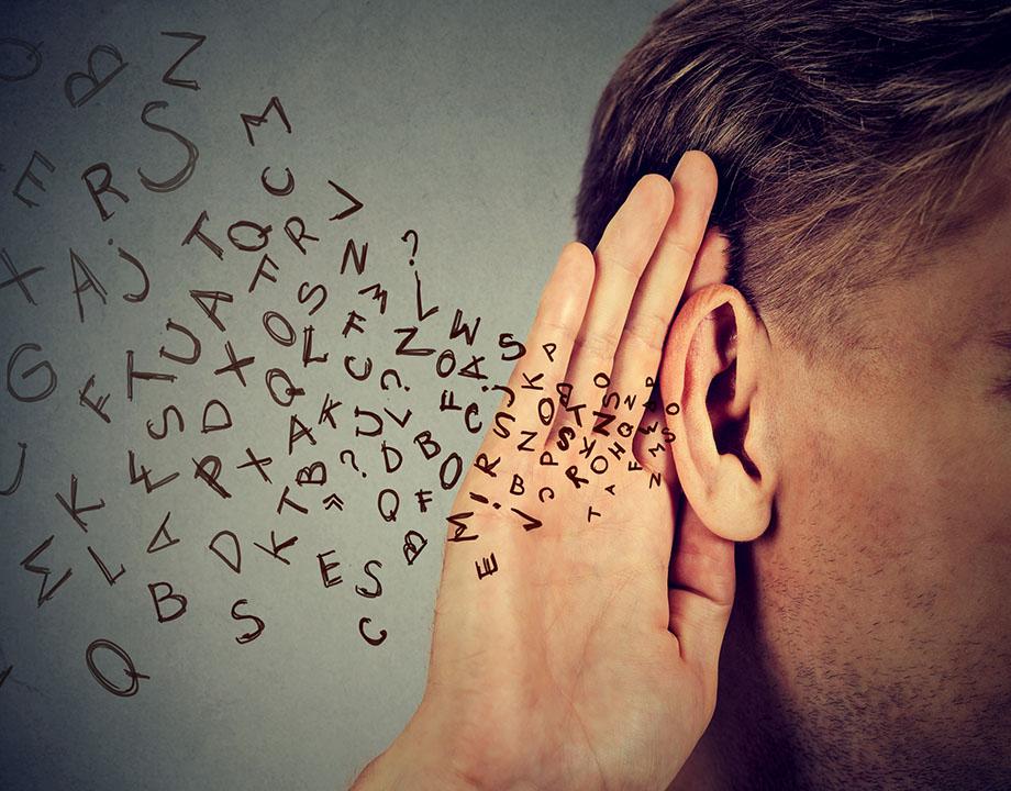 transmitir palabras en el futuro