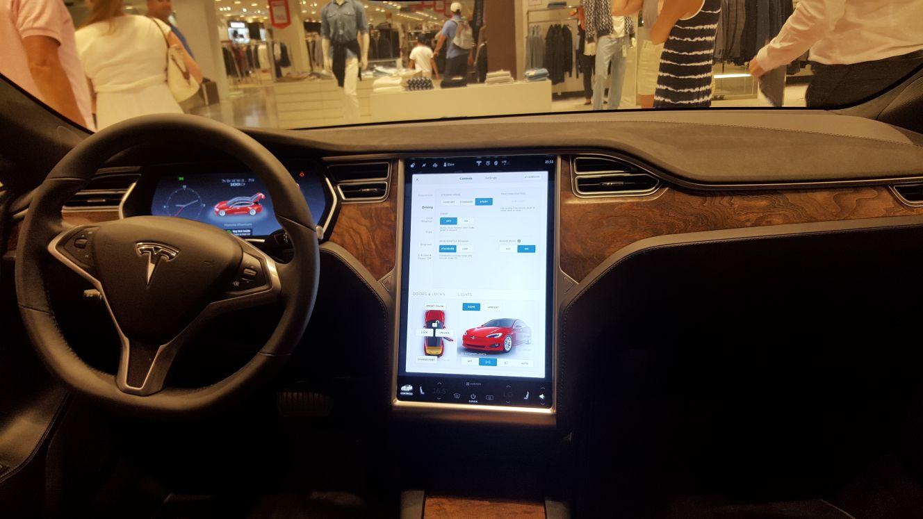 Tesla Model S exclusivo
