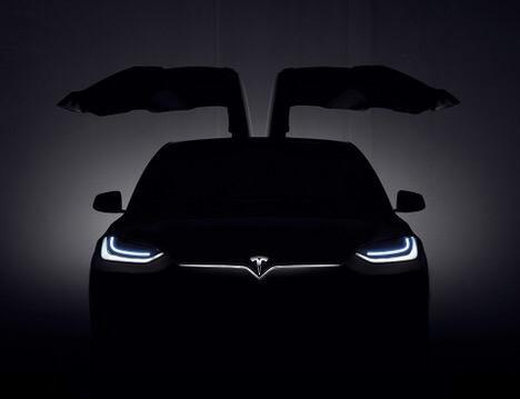 Tesla Model X contorno