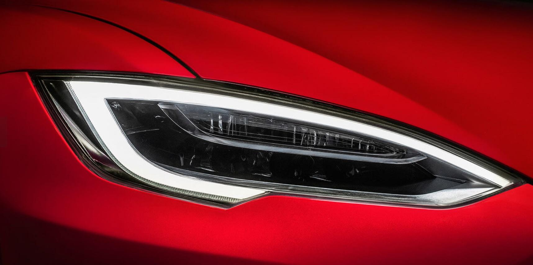 Tesla model S curvas