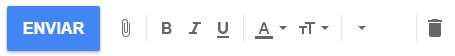 adjuntar un email pictogramas