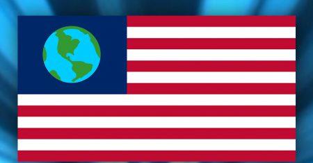 bandera de la tierra de Futurama
