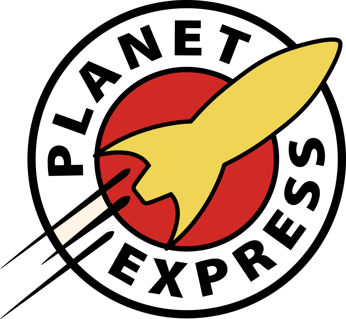 logo de planet express futurama