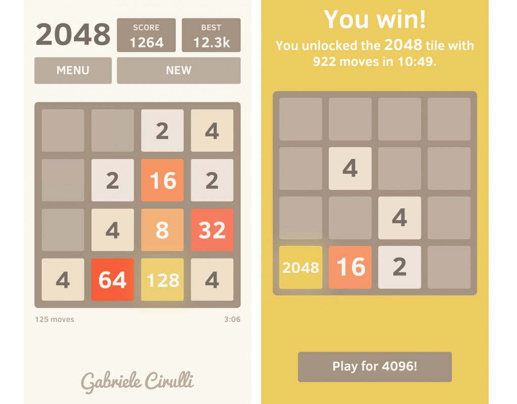 2048 open source para el movil