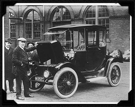 Vehículo eléctrico 1913 Edison sin combustible