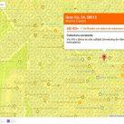 Mapa de cobertura Orange