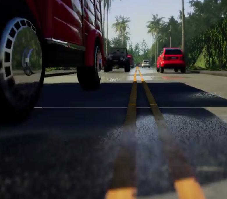 Carla. Simulación de conducción autónoma