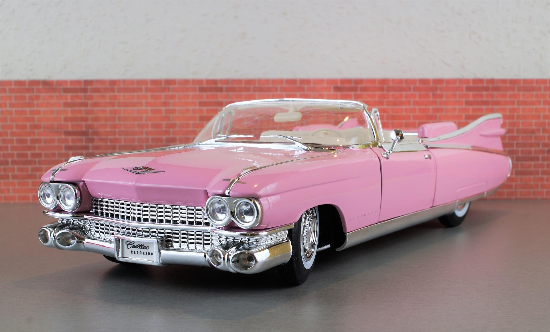 juguete rosa radiocontrol