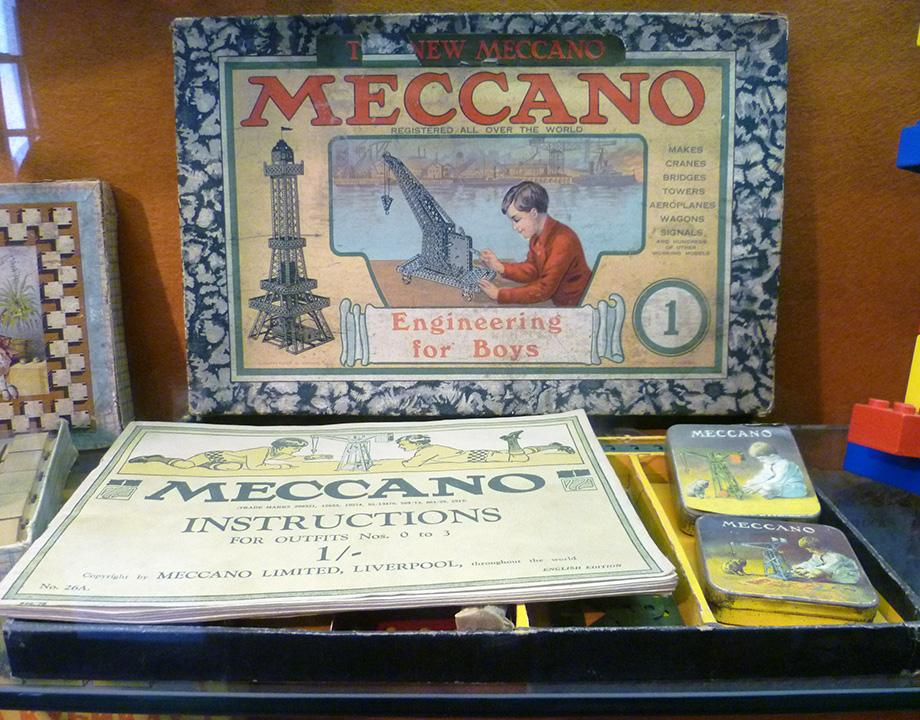 mecano meccano original juguete