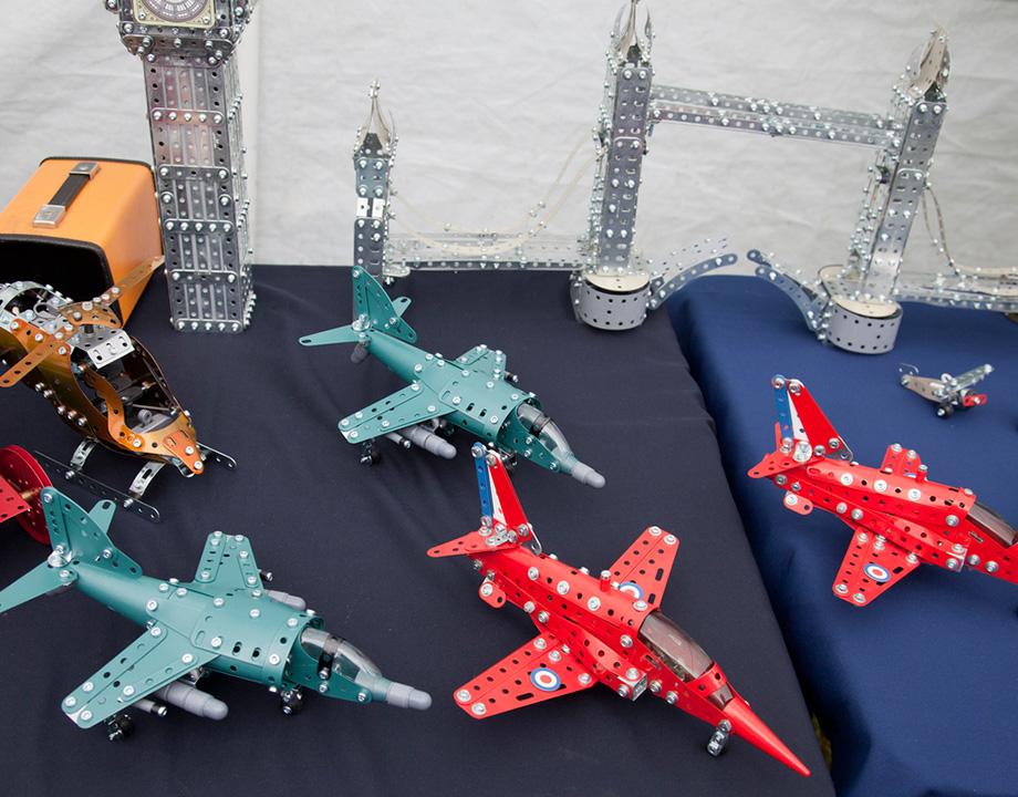mecano meccano tecnología juguetes aviones torres