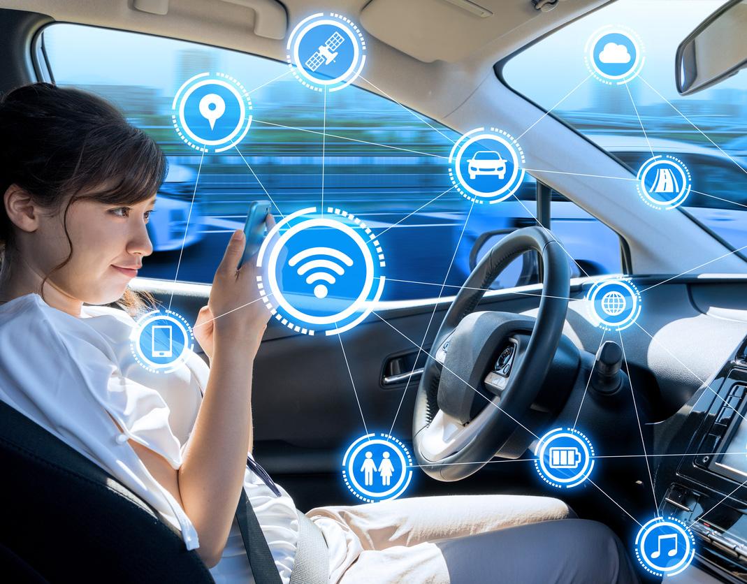 Los coches autónomos podrían aumentar el riesgo de mareo en el coche