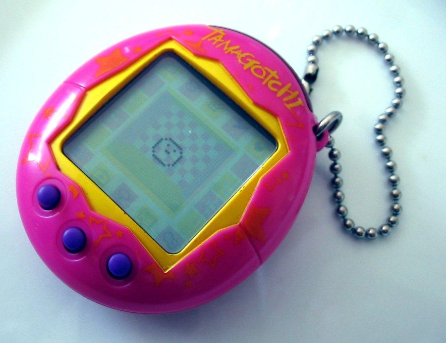 Tamagotchi juguete tecnología