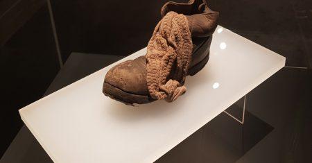 Zapato niño Auschwitz