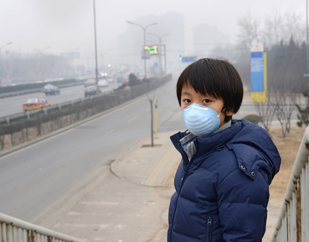 aire es irrespirable