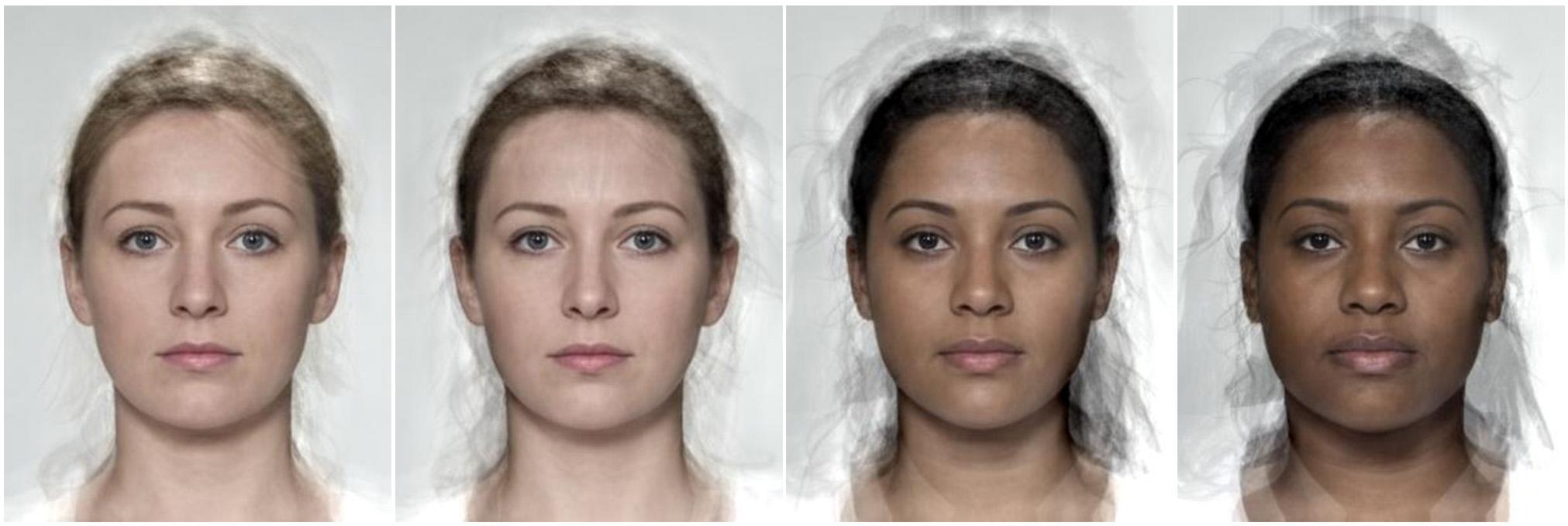 mujeres según tonos de piel belleza media