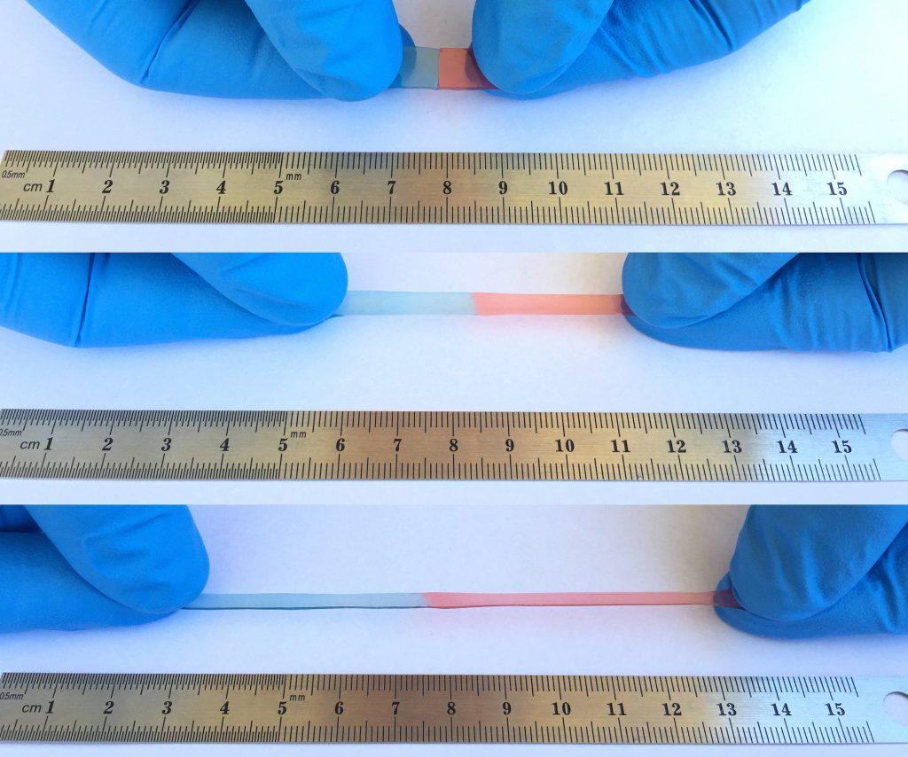 Pantallas autorreparables. Material autorreparable desarrollado por los científicos de la Universidad de California