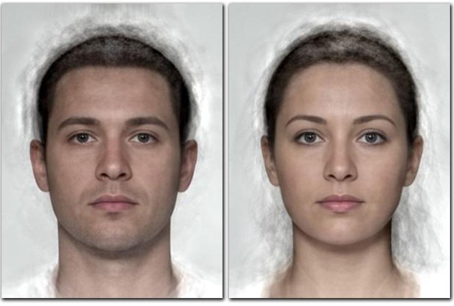 percepción belleza hombre y mujer