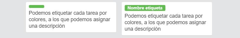 trello etiquetas colores clic