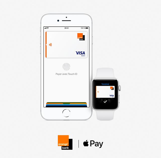 Apple Pay. Orange Bank