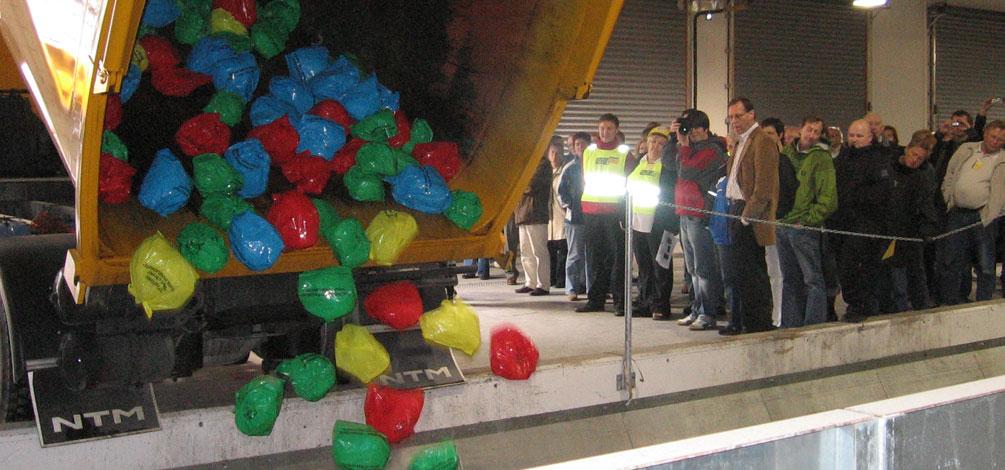 Optibag reciclaje ciudad