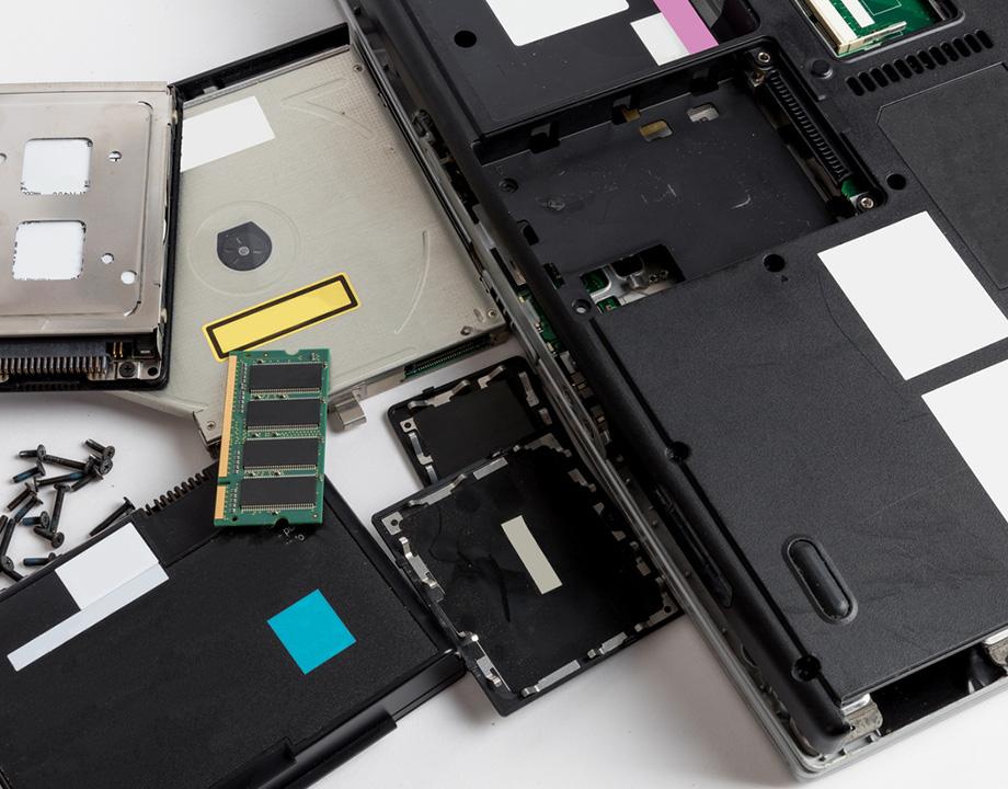 basura electronica pc reciclar readaptar