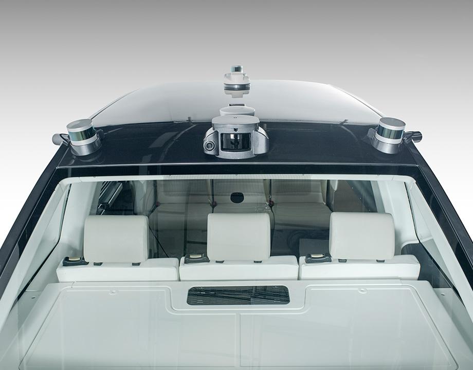taxi robot radares sentores autonomo movilidad