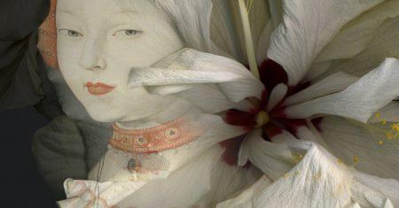 Arte desde perspectiva de género. Paloma Navares. Hibiscus blancos