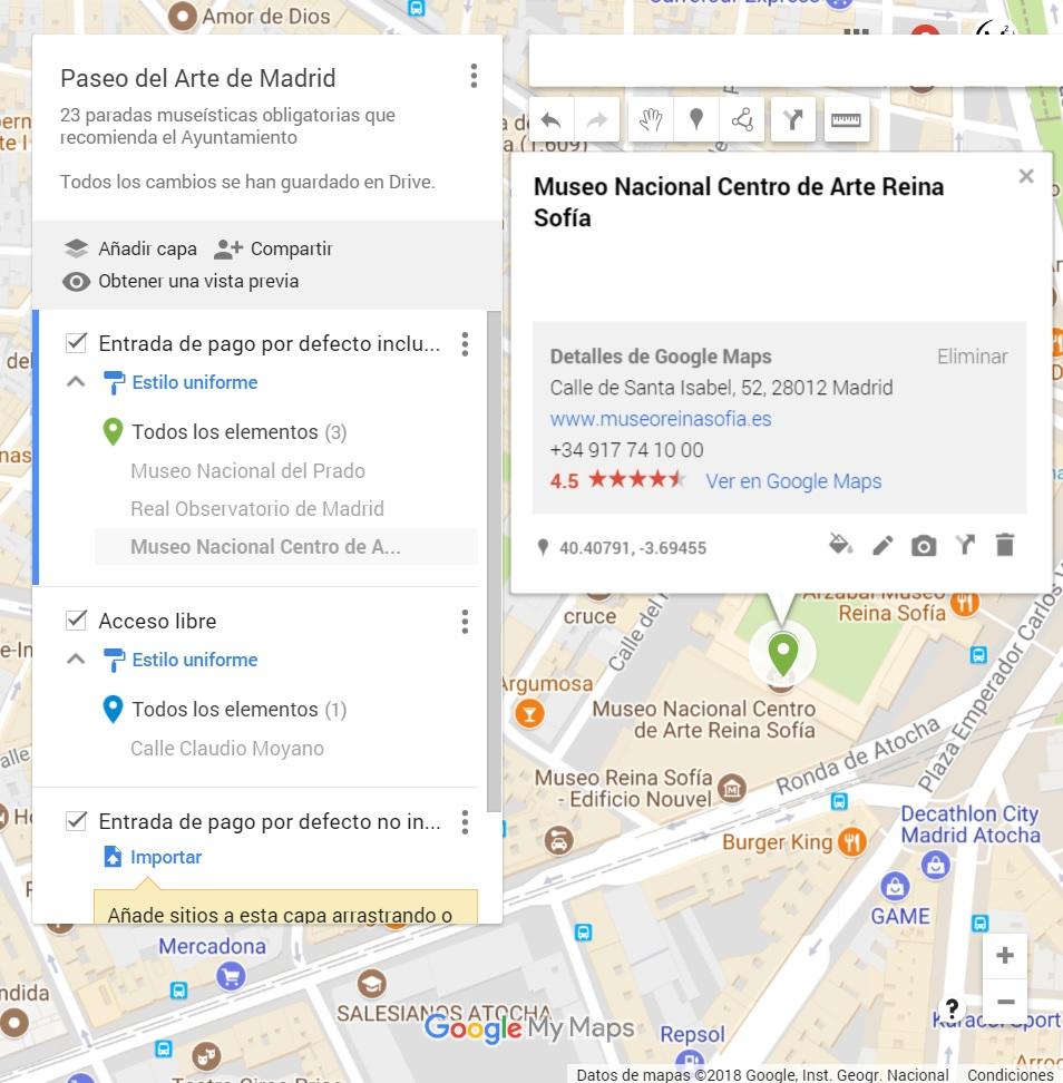 Mapas Google Maps Buscar Capas distribucion