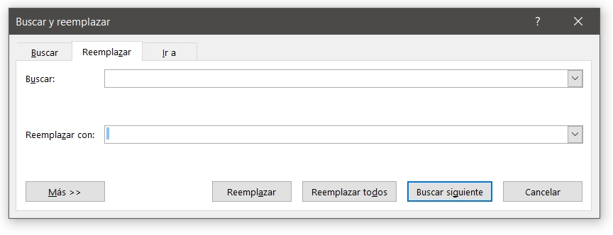 Microsoft Word maquetar texto buscar