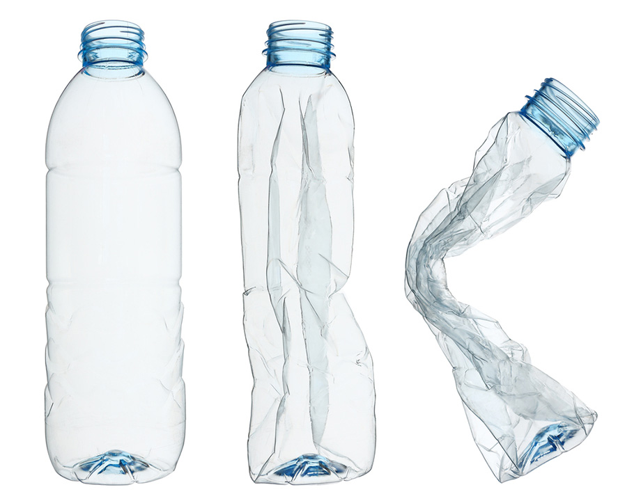 botella plastico pet no biodegradable