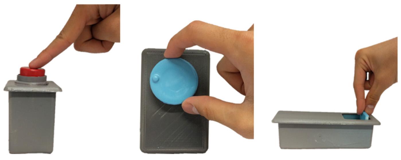 botones wifi 3d
